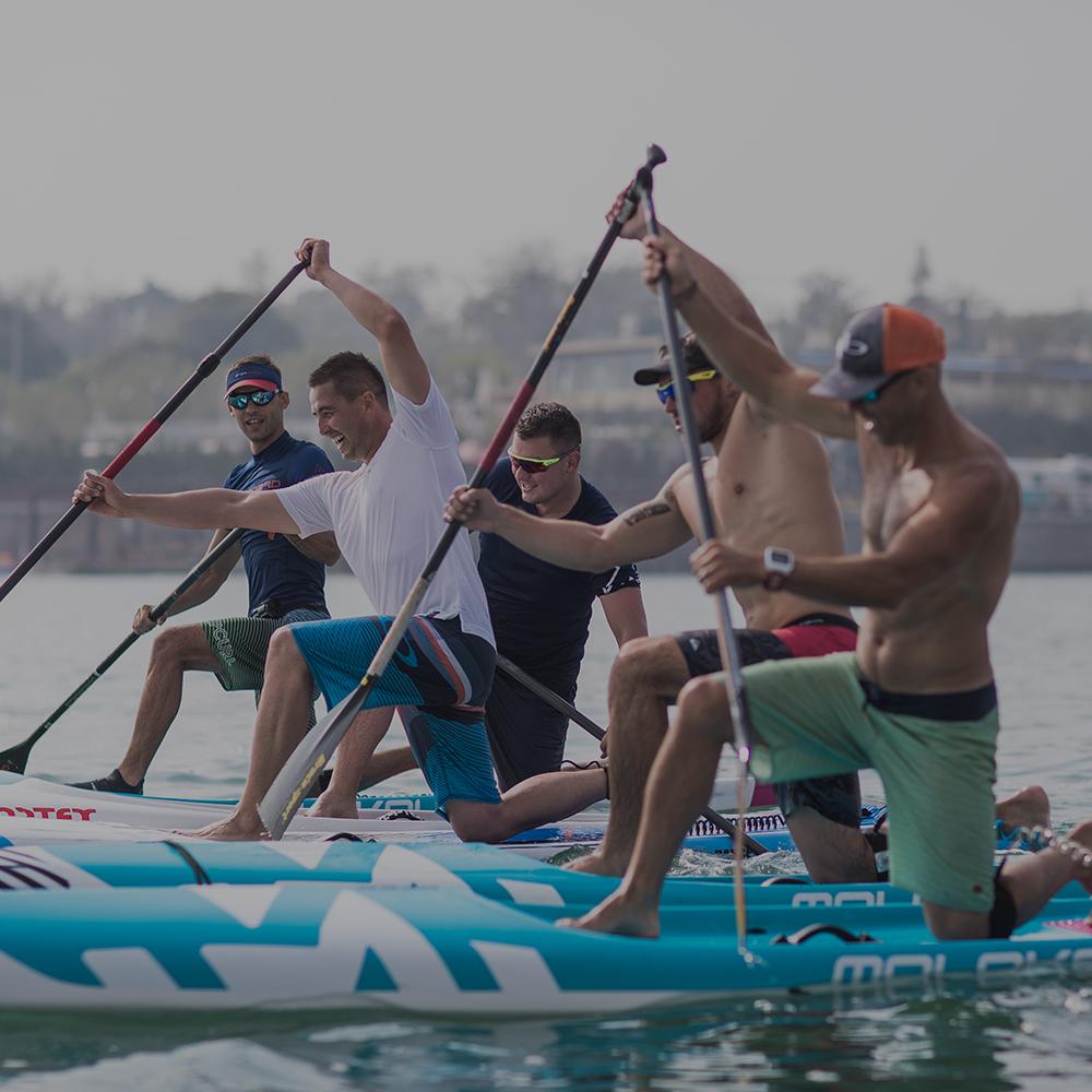 Qingdao kicked off the | MOLOKAI sea sports vitality storm to help ICF paddle board world championships